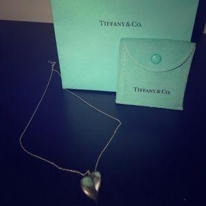 Tiffany's heart necklace